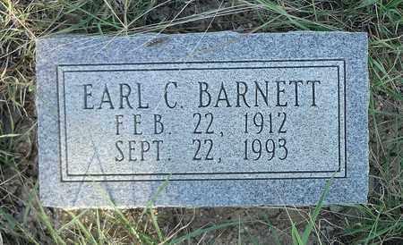 BARNETT, EARL C. - Clay County, Texas   EARL C. BARNETT - Texas Gravestone Photos