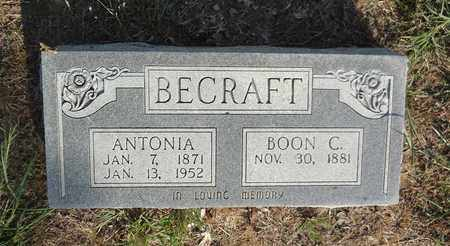 BECRAFT, BOON CHAMBERS - Clay County, Texas | BOON CHAMBERS BECRAFT - Texas Gravestone Photos