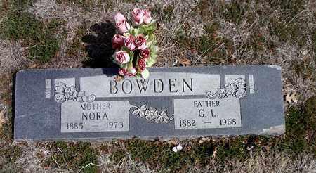"""BOWDEN, LENORA MARTHA """"NORA"""" - Clay County, Texas   LENORA MARTHA """"NORA"""" BOWDEN - Texas Gravestone Photos"""
