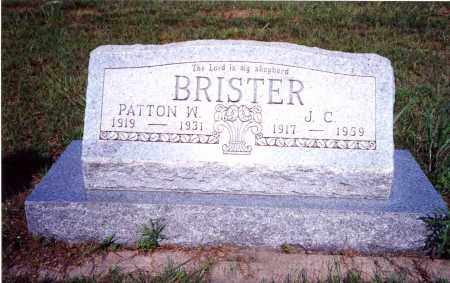 BRISTER, PATTON W - Clay County, Texas | PATTON W BRISTER - Texas Gravestone Photos