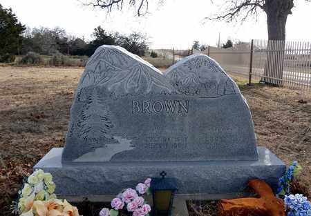 BROWN, CHESTER P - Clay County, Texas | CHESTER P BROWN - Texas Gravestone Photos