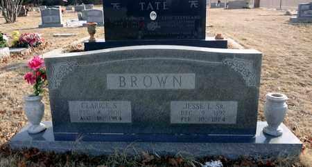 BROWN, JESSE LEE - Clay County, Texas | JESSE LEE BROWN - Texas Gravestone Photos