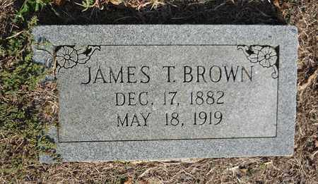 BROWN, JAMES T - Clay County, Texas | JAMES T BROWN - Texas Gravestone Photos