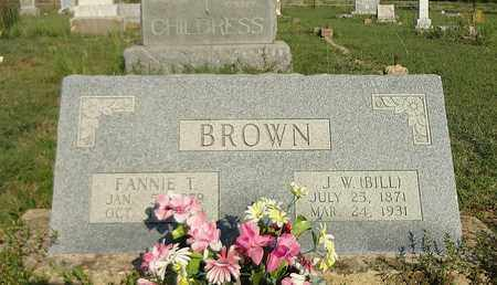 BROWN, JAMES WILLIAM (BILL) - Clay County, Texas | JAMES WILLIAM (BILL) BROWN - Texas Gravestone Photos