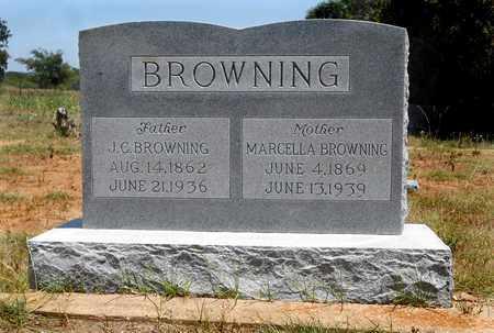 BROWNING, MARCELLA - Clay County, Texas | MARCELLA BROWNING - Texas Gravestone Photos
