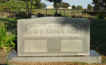BRAGG BROWNING, TAVIE E - Clay County, Texas | TAVIE E BRAGG BROWNING - Texas Gravestone Photos