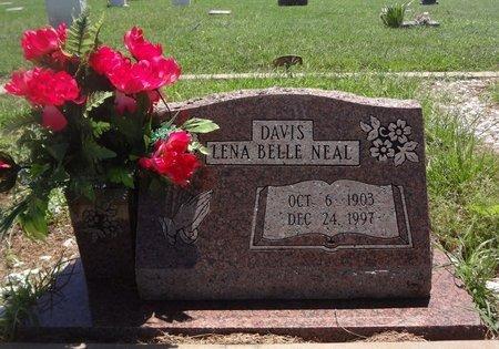 DAVIS, LENA BELLE - Clay County, Texas | LENA BELLE DAVIS - Texas Gravestone Photos
