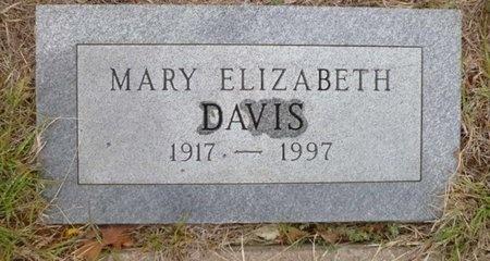 DAVIS, MARY ELIZABETH - Clay County, Texas   MARY ELIZABETH DAVIS - Texas Gravestone Photos