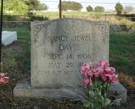 DAVIS, NANCY JEWEL - Clay County, Texas | NANCY JEWEL DAVIS - Texas Gravestone Photos