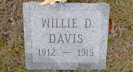 DAVIS, WILLIE D - Clay County, Texas   WILLIE D DAVIS - Texas Gravestone Photos