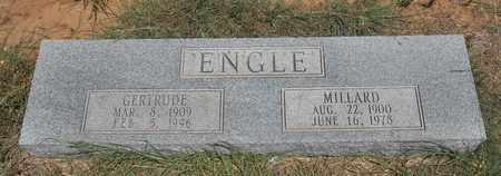 ENGLE, MILLARD - Clay County, Texas | MILLARD ENGLE - Texas Gravestone Photos
