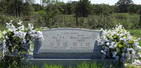 "BRIDGEWATER DAVIS, OZELLE ""NANNY"" - Clay County, Texas | OZELLE ""NANNY"" BRIDGEWATER DAVIS - Texas Gravestone Photos"