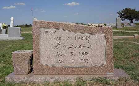 HARBIN, EARL NEWTON - Clay County, Texas | EARL NEWTON HARBIN - Texas Gravestone Photos