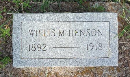 HENSON, WILLIS MANLEY - Clay County, Texas | WILLIS MANLEY HENSON - Texas Gravestone Photos