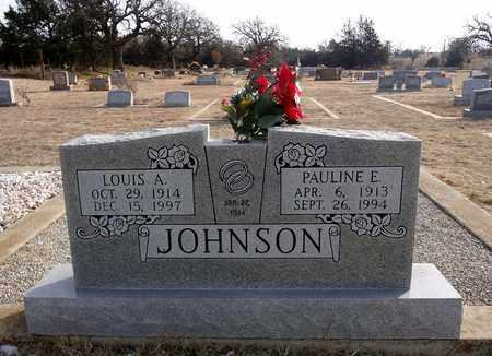JOHNSON, PAULINE E - Clay County, Texas | PAULINE E JOHNSON - Texas Gravestone Photos