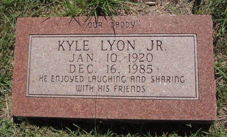 LYON, JR, KYLE - Clay County, Texas | KYLE LYON, JR - Texas Gravestone Photos