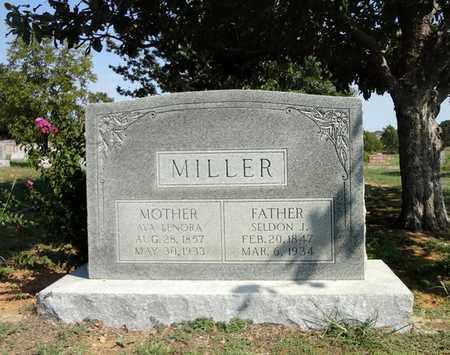 MILLER, AVA LENORA - Clay County, Texas | AVA LENORA MILLER - Texas Gravestone Photos