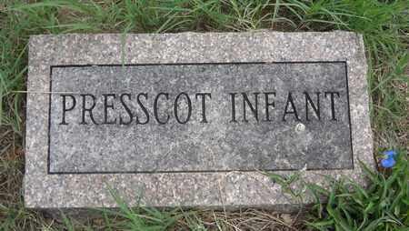 PRESSCOT, INFANT - Clay County, Texas   INFANT PRESSCOT - Texas Gravestone Photos