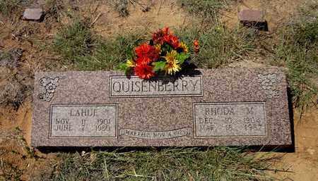 WIDNER QUISENBERRY, RHODA MARTHA - Clay County, Texas | RHODA MARTHA WIDNER QUISENBERRY - Texas Gravestone Photos