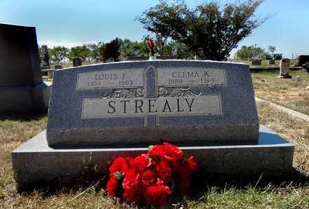 STREALY, CLEMA - Clay County, Texas | CLEMA STREALY - Texas Gravestone Photos