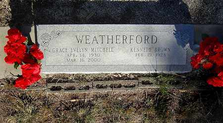 MITCHELL WEATHERFORD, GRACE EVELYN - Clay County, Texas | GRACE EVELYN MITCHELL WEATHERFORD - Texas Gravestone Photos