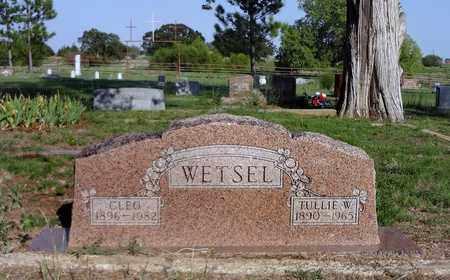 WETSEL, CLEO MAYE - Clay County, Texas | CLEO MAYE WETSEL - Texas Gravestone Photos