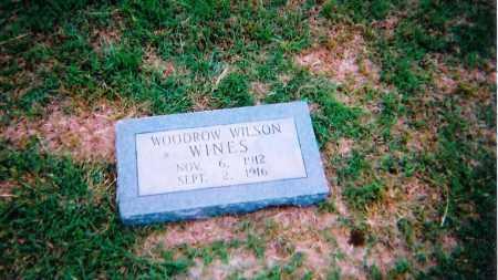 WINES, WOODROW WILSON - Clay County, Texas   WOODROW WILSON WINES - Texas Gravestone Photos