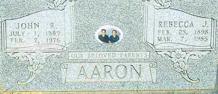 AARON, REBECCA JANE - Coleman County, Texas | REBECCA JANE AARON - Texas Gravestone Photos
