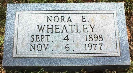 WHEATLEY, NORA ELLEN - Coleman County, Texas | NORA ELLEN WHEATLEY - Texas Gravestone Photos