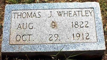 WHEATLEY, THOMAS J. - Coleman County, Texas   THOMAS J. WHEATLEY - Texas Gravestone Photos