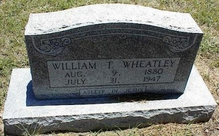 WHEATLEY, WILLIAM T. - Coleman County, Texas | WILLIAM T. WHEATLEY - Texas Gravestone Photos