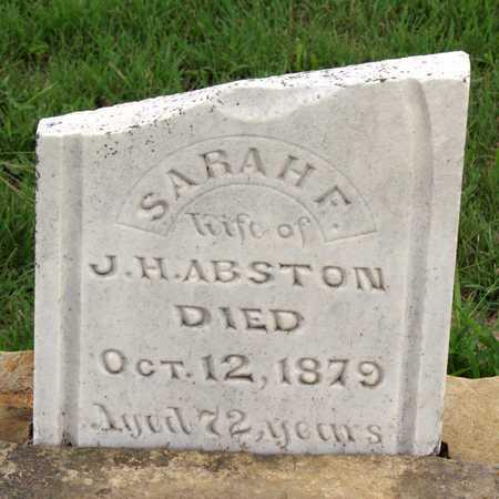ABSTON, SARAH F. - Collin County, Texas | SARAH F. ABSTON - Texas Gravestone Photos