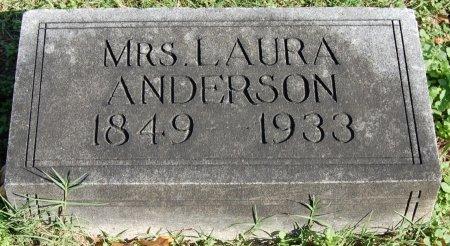 FOX ANDERSON, LAURA - Collin County, Texas | LAURA FOX ANDERSON - Texas Gravestone Photos