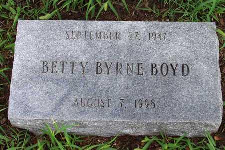 BYRNE BOYD, BETTY - Collin County, Texas | BETTY BYRNE BOYD - Texas Gravestone Photos