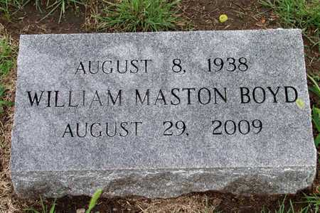 BOYD, WILLIAM MASTON - Collin County, Texas | WILLIAM MASTON BOYD - Texas Gravestone Photos
