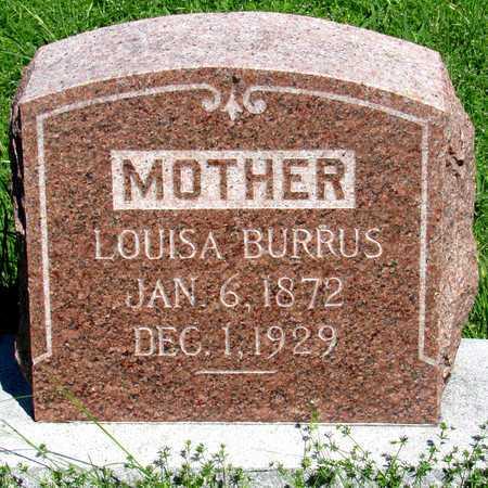 BURRUS, LOUISA - Collin County, Texas | LOUISA BURRUS - Texas Gravestone Photos