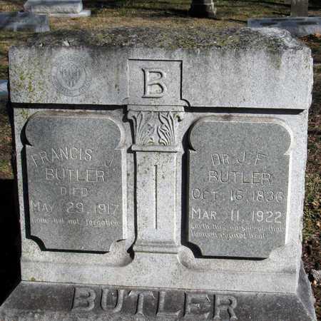 BUTLER, J. F., DR. - Collin County, Texas | J. F., DR. BUTLER - Texas Gravestone Photos