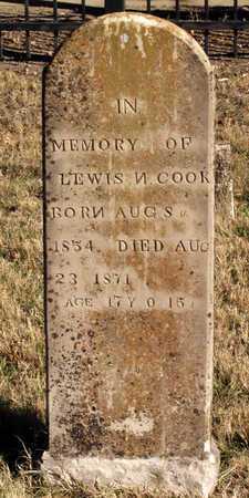 COOK, LEWIS N. - Collin County, Texas | LEWIS N. COOK - Texas Gravestone Photos