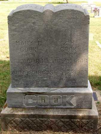 COOK, MARY E. - Collin County, Texas   MARY E. COOK - Texas Gravestone Photos