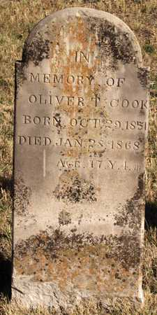 COOK, OLIVER T. - Collin County, Texas | OLIVER T. COOK - Texas Gravestone Photos