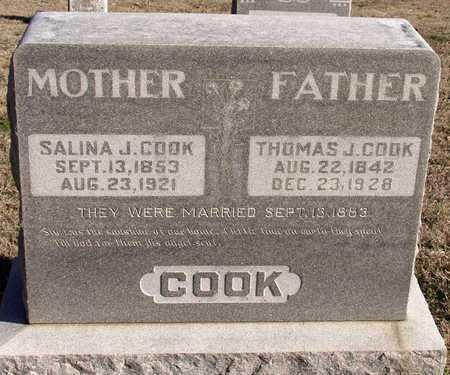 COOK, THOMAS J. - Collin County, Texas | THOMAS J. COOK - Texas Gravestone Photos