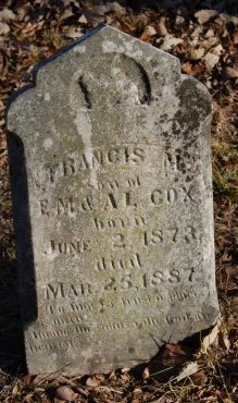 COX, FRANCIS M. - Collin County, Texas | FRANCIS M. COX - Texas Gravestone Photos