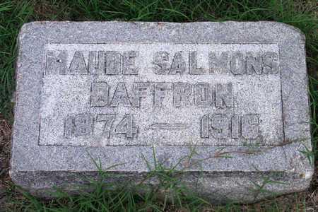 SALMONS DAFFRON, MAUDE - Collin County, Texas | MAUDE SALMONS DAFFRON - Texas Gravestone Photos