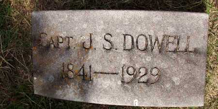 DOWELL, CAPT. J. S. - Collin County, Texas | CAPT. J. S. DOWELL - Texas Gravestone Photos