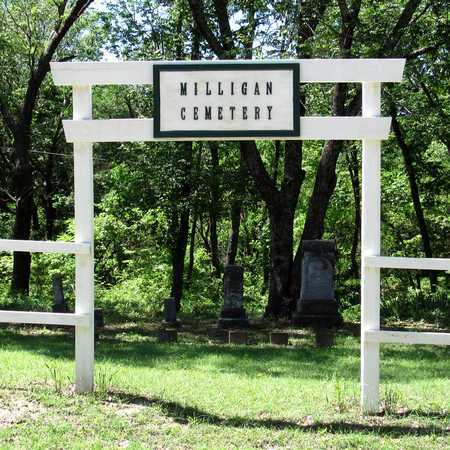 *ENTRANCE, MILLIGAN CEMETERY - Collin County, Texas | MILLIGAN CEMETERY *ENTRANCE - Texas Gravestone Photos