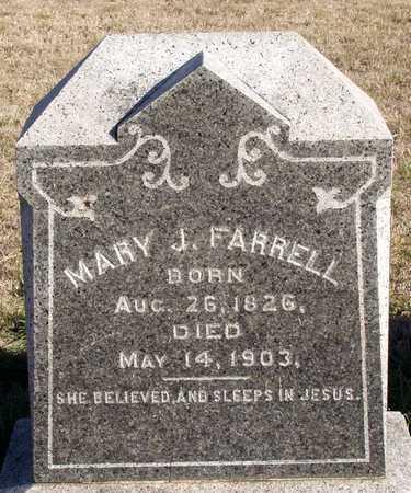 FARRELL, MARY J. - Collin County, Texas | MARY J. FARRELL - Texas Gravestone Photos