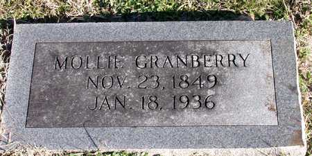 GRANBERRY, MOLLIE - Collin County, Texas | MOLLIE GRANBERRY - Texas Gravestone Photos