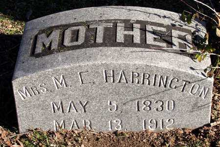 HARRINGTON, M E, MRS - Collin County, Texas | M E, MRS HARRINGTON - Texas Gravestone Photos