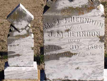 HERNDON, L. T., MRS. - Collin County, Texas | L. T., MRS. HERNDON - Texas Gravestone Photos