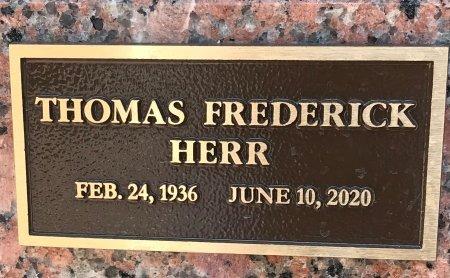 HERR, THOMAS FREDERICK - Collin County, Texas | THOMAS FREDERICK HERR - Texas Gravestone Photos